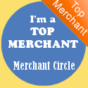 I'm a Top Merchant on MerchantCircle